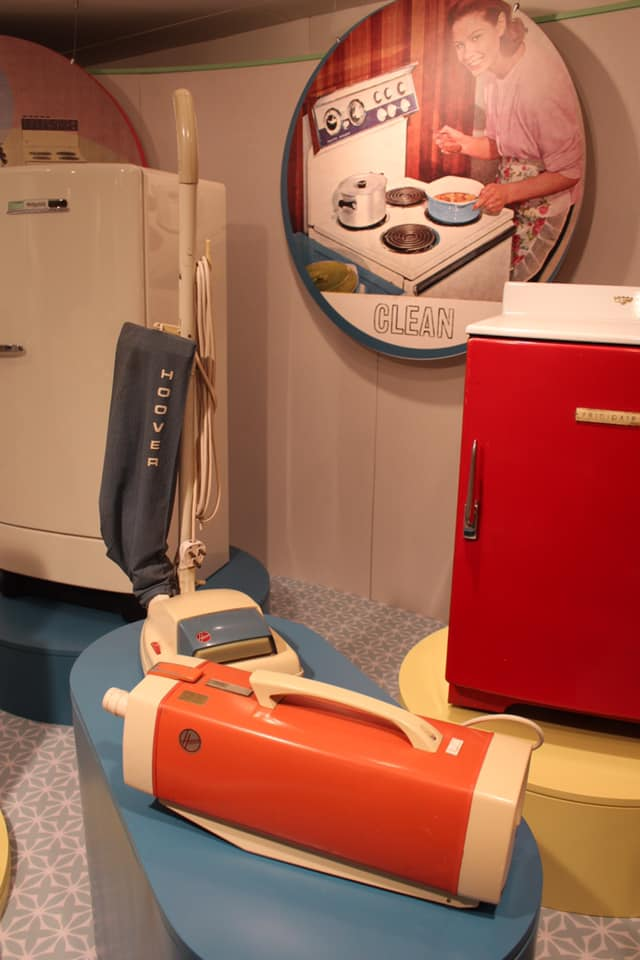 Post-War vacuums on display at the Kitchen Power exhibition, National Museum of Ireland - Country Life