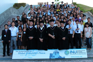 INU Student Seminar and Summer Master School 2012_After Certificate Ceremony Cropped